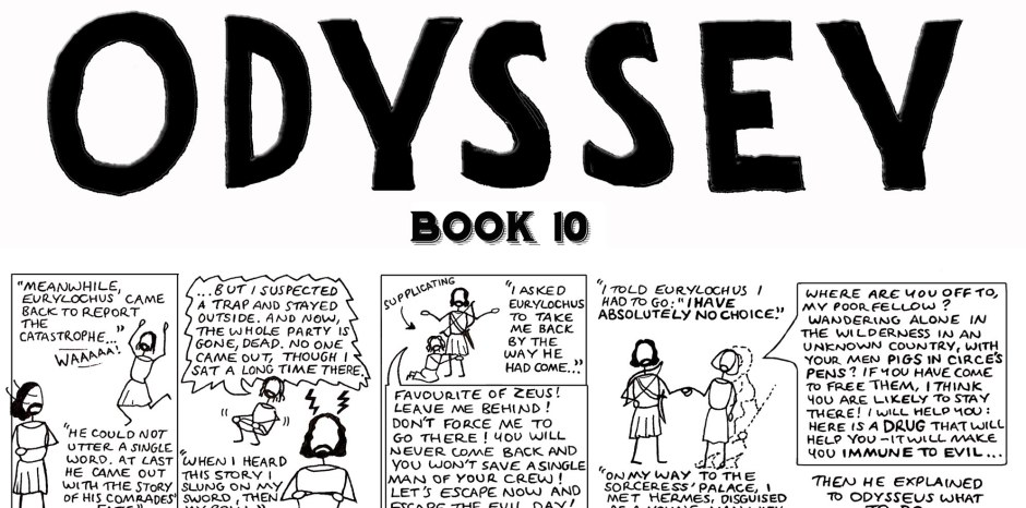 Odyssey book 10 episode 3 part 2 1