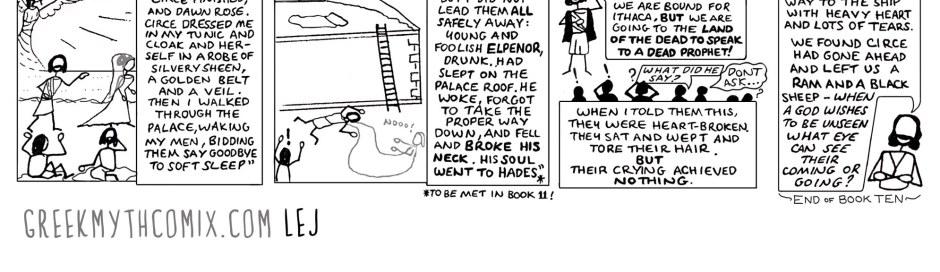 Odyssey book 10 episode 3 part 3 4