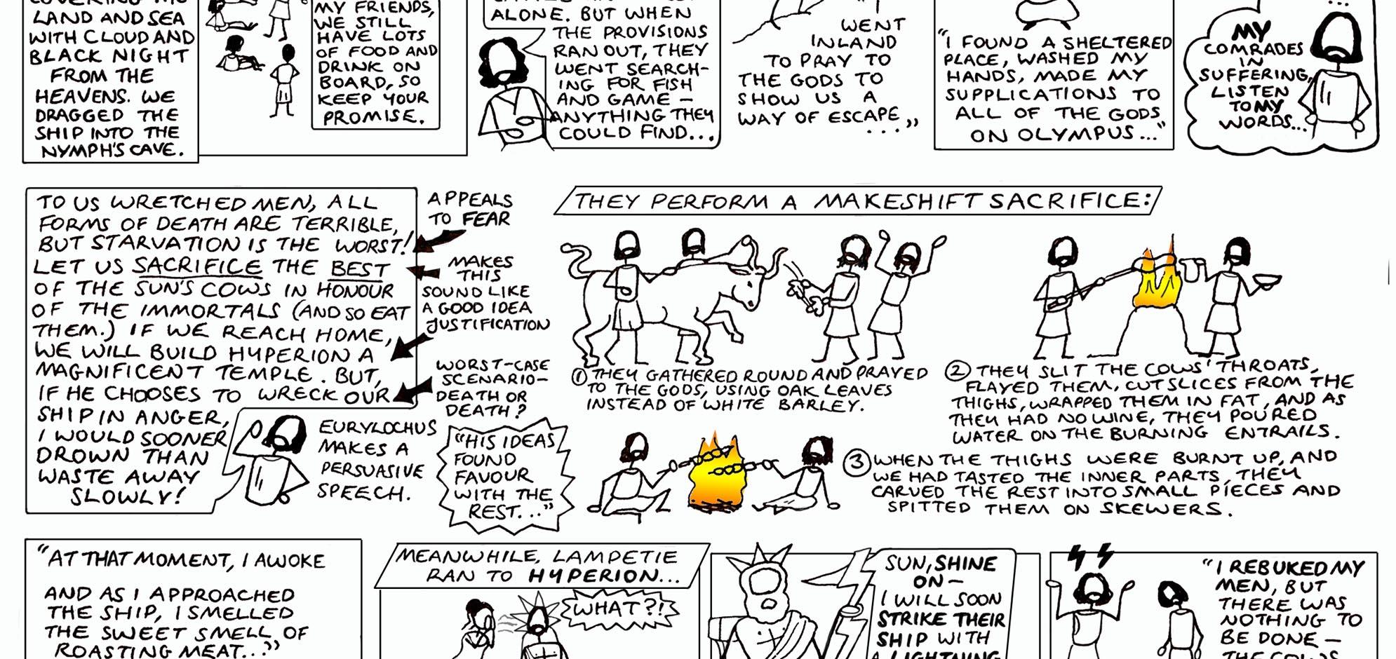 odysseus | Greek Myth Comix