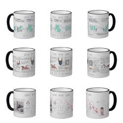 Greek Myth Mugs!