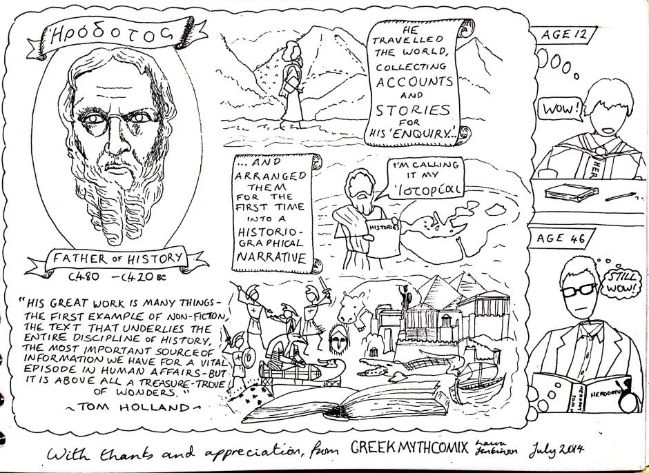 Herodotus for Tom Holland
